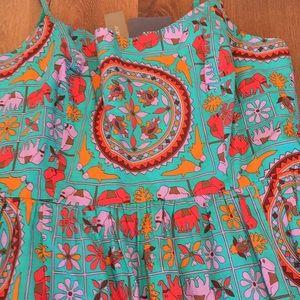 3aa08919e631b6 J. Crew Dresses - J. Crew Drake s tiled elephant dress sz ...